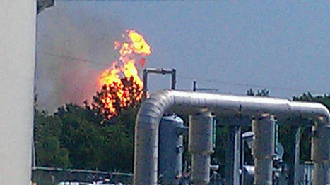 No Injuries In Pipeline Explosion, Fire In Pittsburg County - news9.com KWTV | SecureOil | Scoop.it