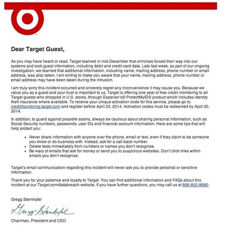 Non-Target Customers Wondering How Target Got Contact Info To Send Email ... - The Consumerist | email | Scoop.it
