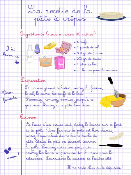 On se prépare pour la Chandeleur | Remue-méninges FLE | Scoop.it