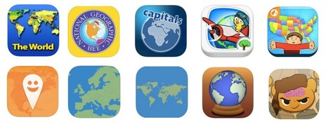 Top 10 Geography EdApps for Kids - Balefire Labs | Mobile learning and app design for educators | Scoop.it