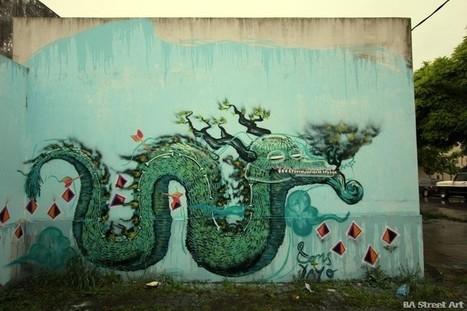 Street artists paint school in La Plata, Buenos Aires | Actualidad | Scoop.it