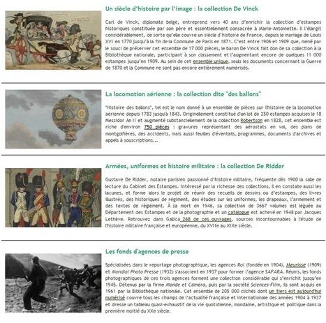 Une nouvelle page de présentation dans Gallica : l'histoire de France par l'image | Gallica | Des ressources numériques pour enseigner | Scoop.it