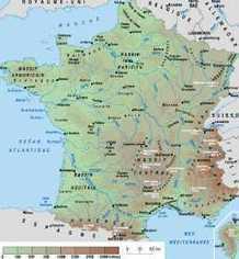 CARTE DE FRANCE : Départements Régions Villes | café français | Scoop.it