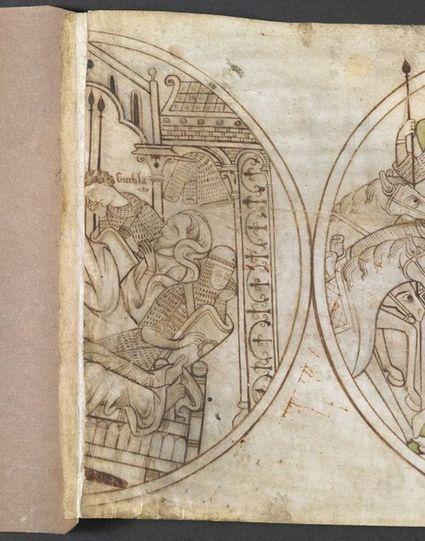 On a Roll - Medieval manuscripts blog | iconographie médiévale | Scoop.it