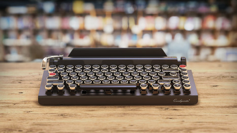 Want To Feel Like You're Writing With A Typewriter? Here's A Typewriter-Inspired Mechanical Keyboard | Litteris | Scoop.it