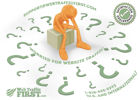 Let someone else worry about your Website Traffic. Stay Relaxed. | Web Traffic First | Scoop.it
