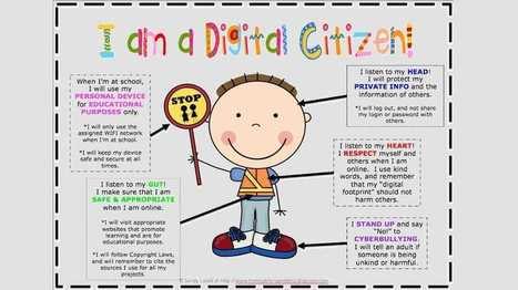 Fantastic Resources for Teaching Digital Citizenship Education in Your Classroom - EdTechReview™ (ETR) | School Libraries Leading Information Literacy | Scoop.it