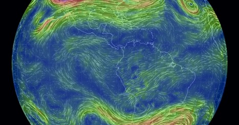 Interactive Wind Map | Geography Education | Scoop.it