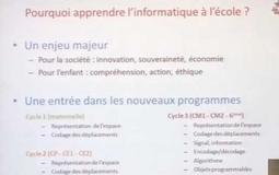 Le projet Class'code. David Wilgenbus (Fondation la Main à la Pâte) | Educnum | Scoop.it