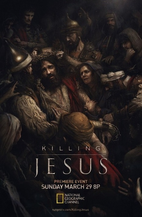 "Pixels and Paint: Creating The ""Killing Jesus"" Key Art. 