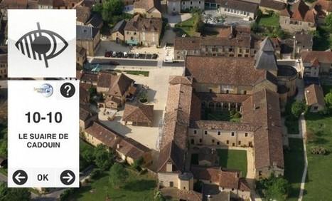 Cloître de Cadouin: la Semitour Dordogne lance un audioguide pour aveugles et malvoyants | Musées accessibles | Scoop.it