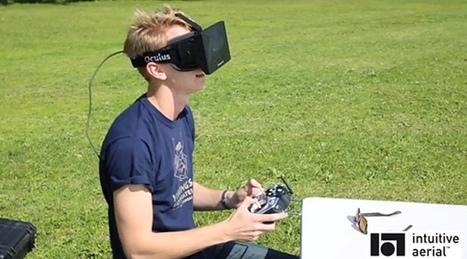 Avec l'Oculus Rift FPV system, l'ère du tout drone est proche - Premiere.fr Fluctuat | Drone & applications | Scoop.it