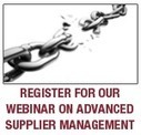 Advanced Supplier Management webinar Q&A Session | Supply Chain Insights from OPS Rules | Scoop.it