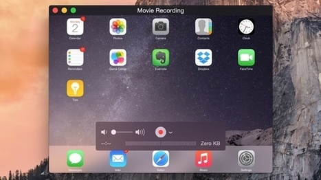 How to record your iPhone or iPad screen on a Mac | Educational technology , Erate, Broadband and Connectivity | Scoop.it