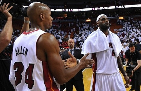 Ray Allen Leaning Towards Joining Cavaliers | Ruffhaus Media | Scoop.it