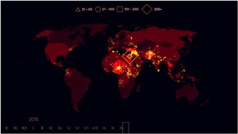15 Years Of Terror - Map Of Terrorist Incidents Since 2000 - Brilliant Maps | AP Human Geography Digital Knowledge Source | Scoop.it