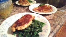 Queens Our City Radio Cooking With The Mambo Queen Saute Chicken with Barbeque Sauce and Spinach | Queens Our City Radio Cooking With The Mambo Queen | Scoop.it