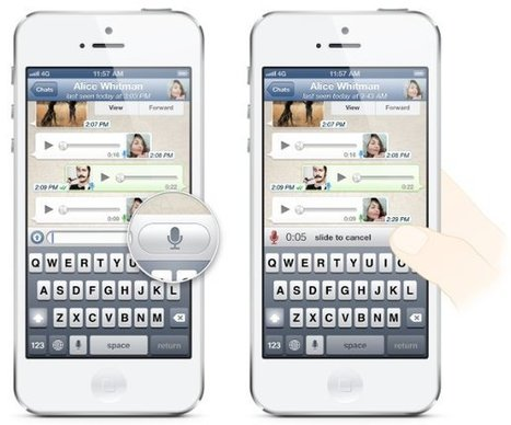How To Use Voice Messages - WhatsApp - Prime Inspiration   TechSci   Scoop.it