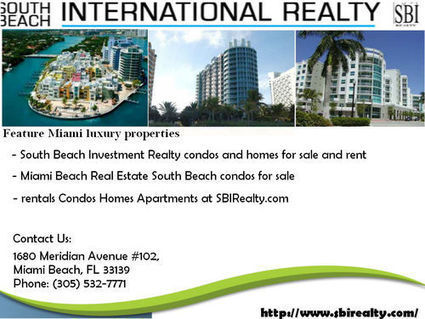 Miami Real Estate | sbirealty | Scoop.it