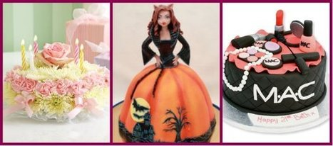 Different Types Of Girl's Birthday Cake Ideas | Creative cakes, cupcakes, desserts and cake ideas | Scoop.it
