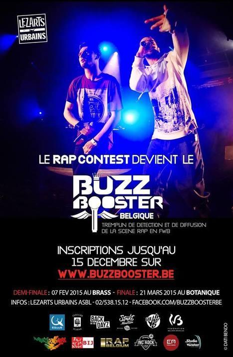 Appel à candidatures • LE RAP CONTEST DEVIENT LE BUZZ BOOSTER BELGIQUE | CHRONYX.be : we love urban events ! | Scoop.it