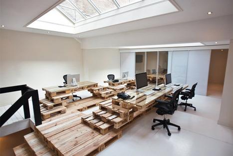 30 Examples of Creative Wooden Office Interior Design | Inspiration | Diseño e inspiración | Scoop.it