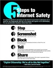 5 Steps to Internet Safety | Teaching Digital Citizenship in Public Schools | Scoop.it