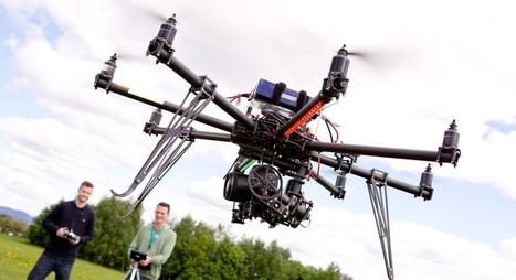 Bientôt des couloirs aériens dédiés aux drones ? | Geeks | Scoop.it