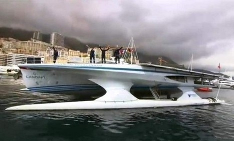 Solar-powered boat completes its trip around the world | ARCHIresource | Scoop.it