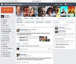 Comment Facebook prépare secrètement sa guerre contre Slack | The quest for zero email  & social business | Scoop.it