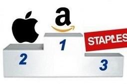 E-commerce : Apple consolide sa place de 2e vendeur en ligne derrière Amazon | E-Commerce | Scoop.it