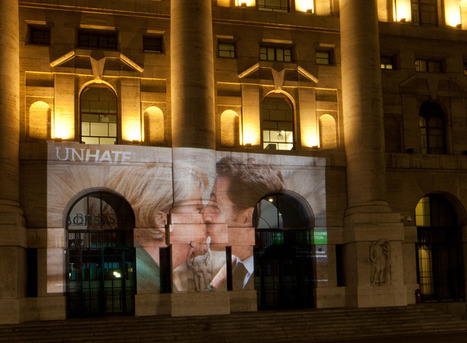 benetton unhate campaign features kissing world leaders | ONLINE NEWS | Scoop.it