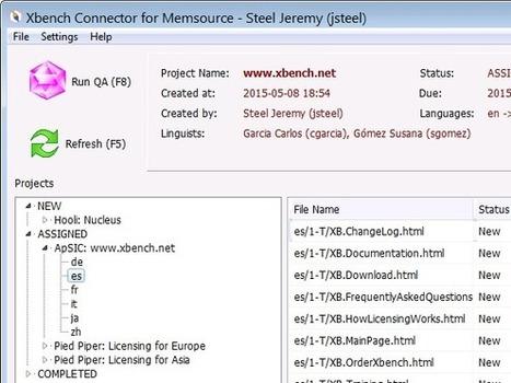 ApSIC Xbench Connector for Memsource - Public Beta Released! (from ApSIC Tools Weblog) | Translator Tools | Scoop.it