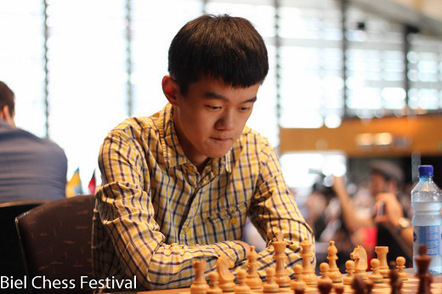 Ding Liren gains the lead with two rounds to go in Biel   Chessdom   Chess Around The World   Scoop.it