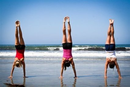 Inspired Fit Strong – The Definitive Guide to Handstand Push-Ups: 7 Progressions That Will Get You There!   Sports Ethics:SantiagoM   Scoop.it