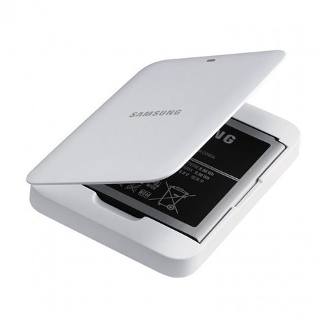 Extend Samsung Galaxy S4's battery life.. official spare battery and charger kit | TechGadgetry | Scoop.it
