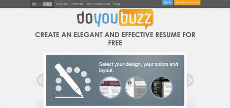 Top 10 Free Tools to Create Resume Online | E-Learning and Online Teaching | Scoop.it