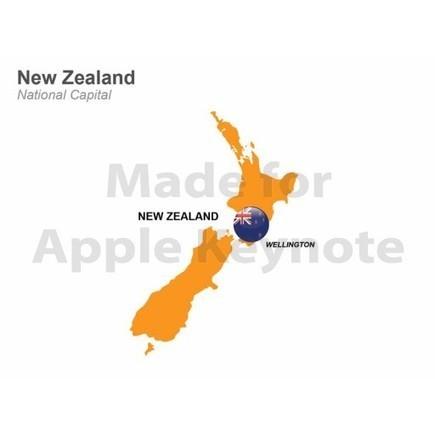 Map of New Zealand for Mac Keynote | Apple Keynote Slides For Sale | Scoop.it
