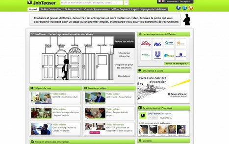 [Start-up] JobTeaser.com, boostez votre carrière | Interviews | Locita | Time to Learn | Scoop.it