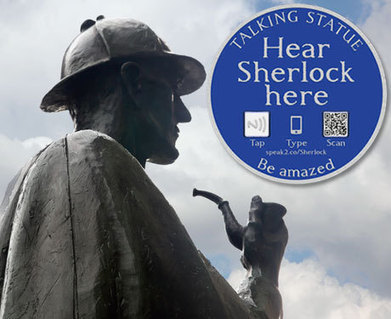 NFC brings statues to life in London and Manchester | NFC technology | Scoop.it