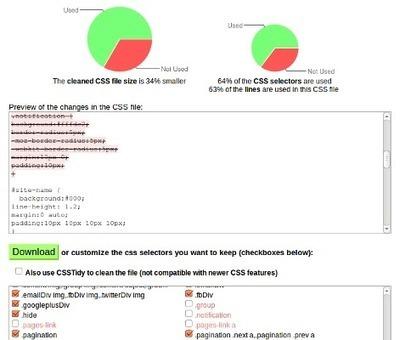 Remove unused CSS - CSS Optimizer | EcoConception Logicielle | Scoop.it