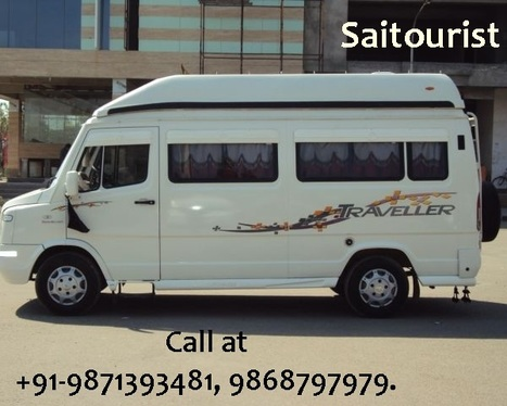Best Tempo Traveller Hire Services with Saitourist Tours & Travels: Smart Choice For Foreign & Domestic Tourist - Tempo Traveller | Tempo Traveller Noida | Scoop.it