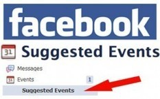 Facebook Suggested Events Predicts Where You'll Want to Go | Social Media Buzz | Scoop.it