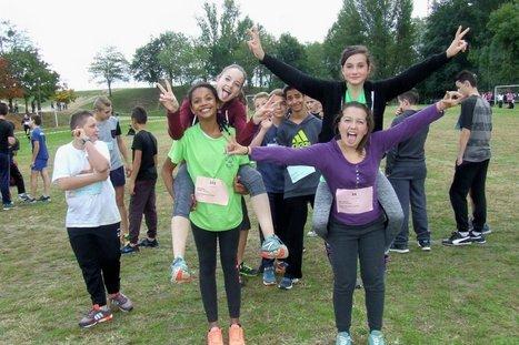 690 élèves ont participé jeudi au cross du collège | Vie et patrimoine à St Martin-du-Bois (33) | Scoop.it