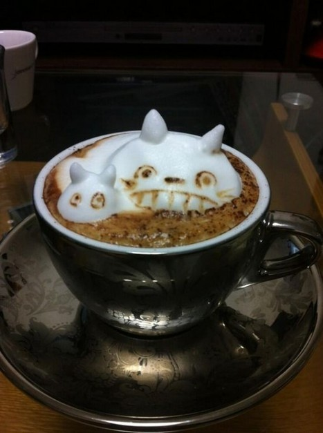 Pop-Out Coffee – The 3D Latte Art of Kohei Matsuno | Strange days indeed... | Scoop.it