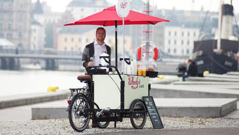 The Bike-Powered Coffee Cart That Could Take On Starbucks | Green Attitude | Scoop.it