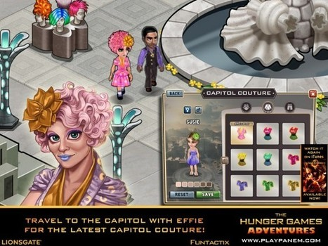 The Hunger Games Adventures for iPad Will Immerse You in the World of Panem | iHEARTbooks | Scoop.it