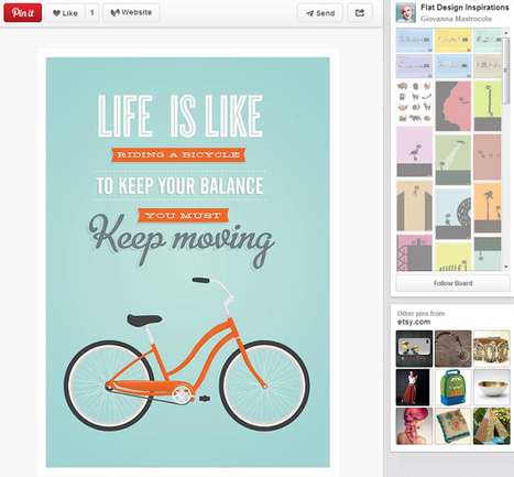 30 Amazing Web Design Pinterest Boards to Follow • Inspired Magazine | Pinterest | Scoop.it