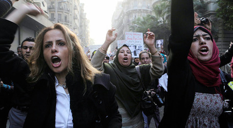 Mass march by Cairo women in protest over soldiers' abuse | A Voice of Our Own | Scoop.it