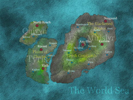 Maps - World of Imarel | Friday Knight News - RPG Edition: 11-MAY-2012 | Scoop.it